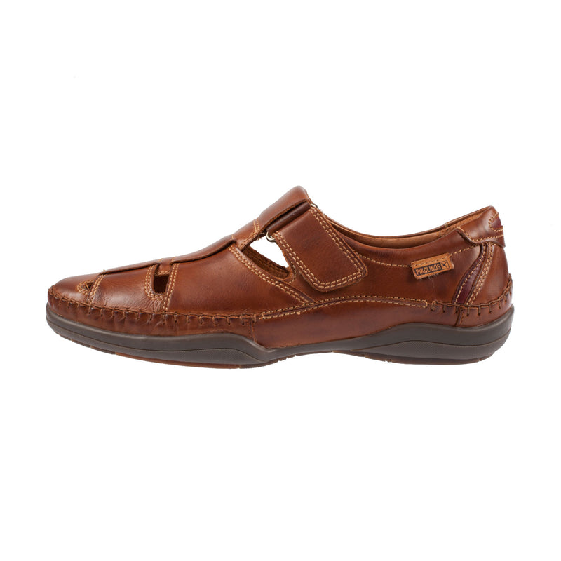 Men's M1d-1011 Leather Velcro Strap Shoe