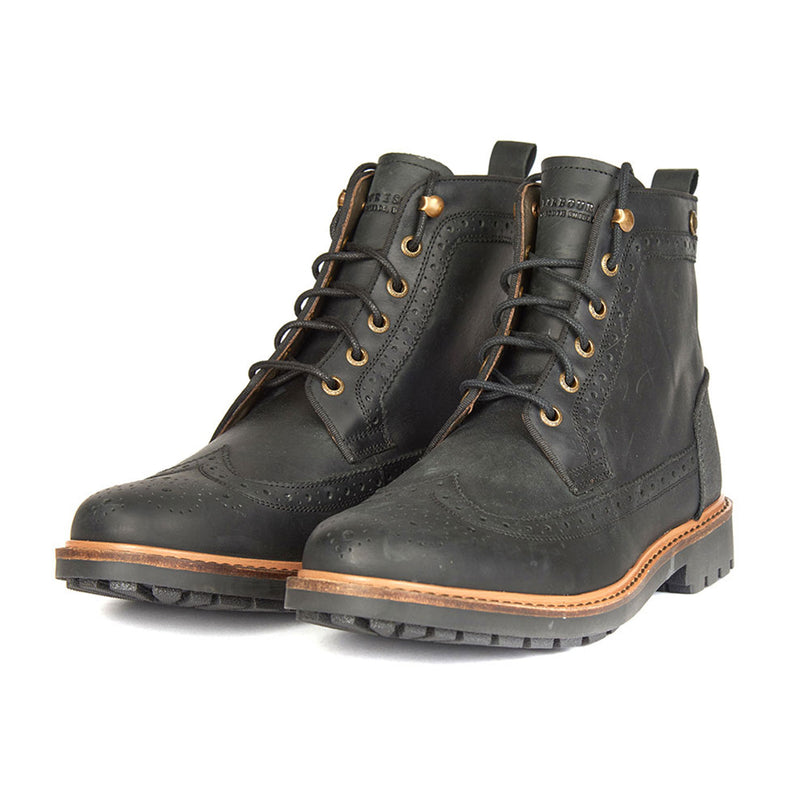Frankland Leather Brogue Boot