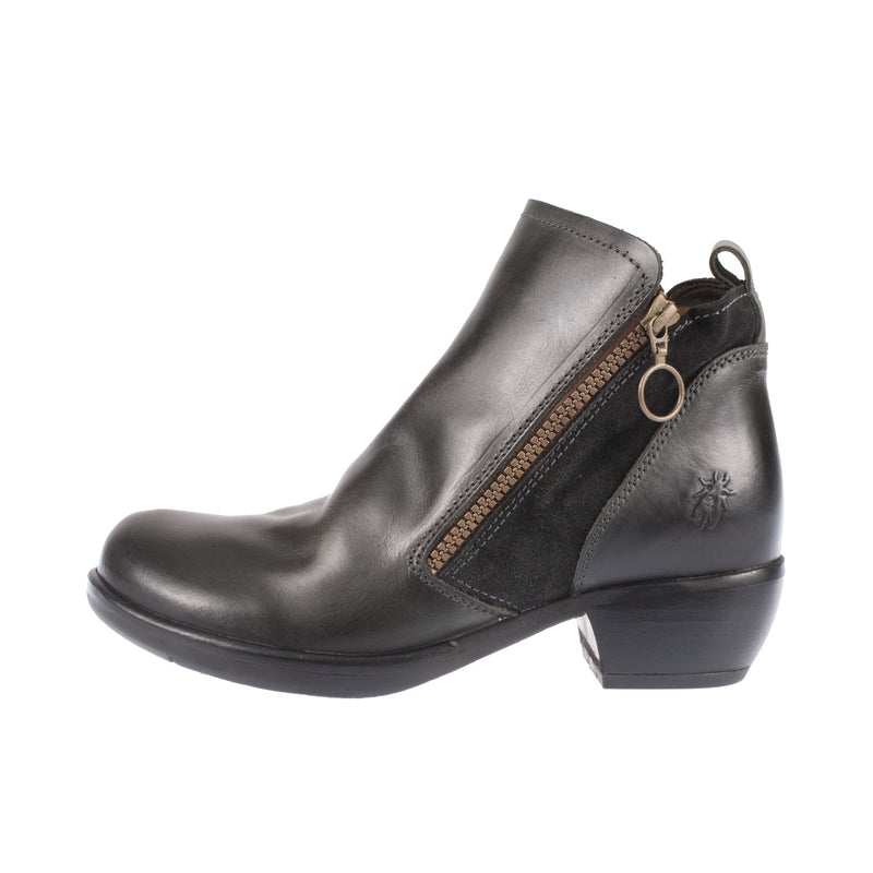Meli Leather Heel Ankle Boot