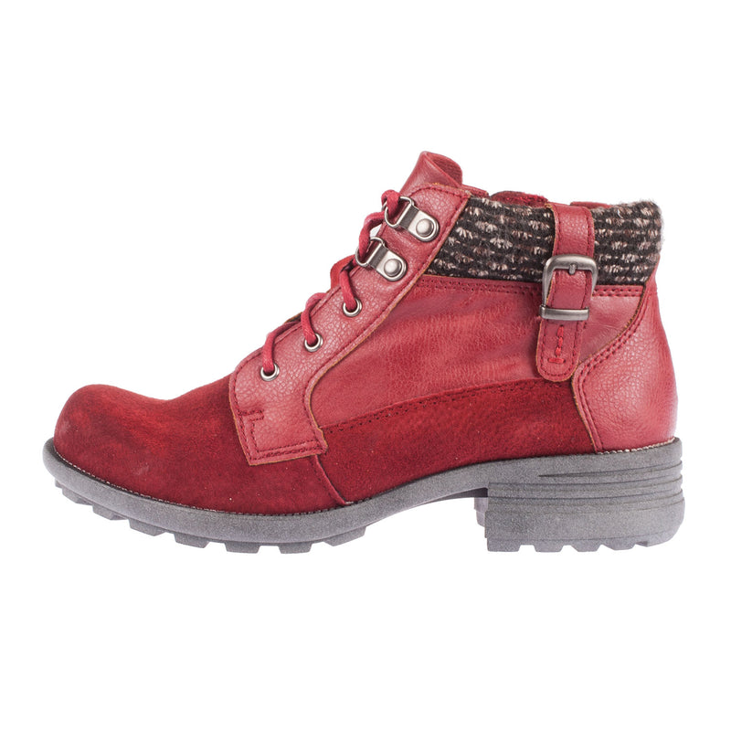 Women's Mobile Leather/Suede Ankle Boot