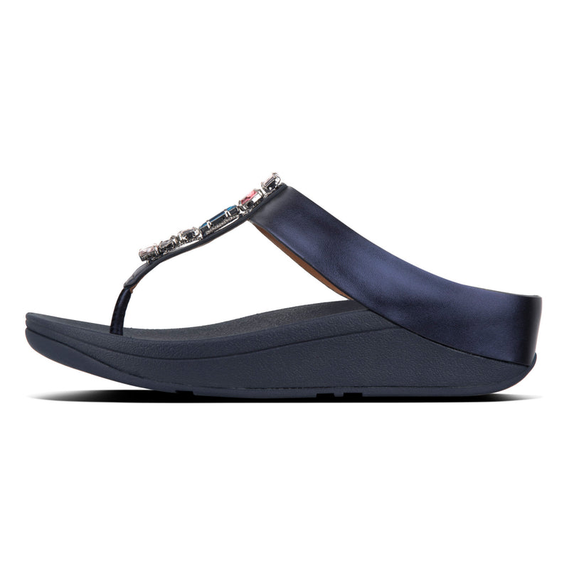 Women's Fino Leather Toe-Thong Sandal