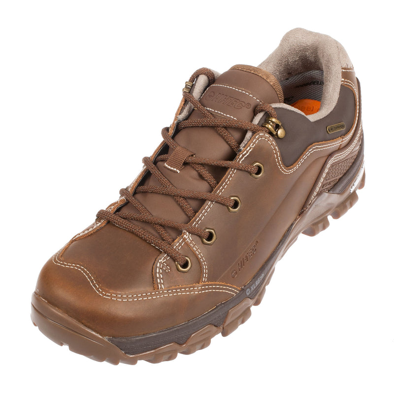 HI-TEC Men's Ox Discovery Walking Trainer Lace Up Shoe