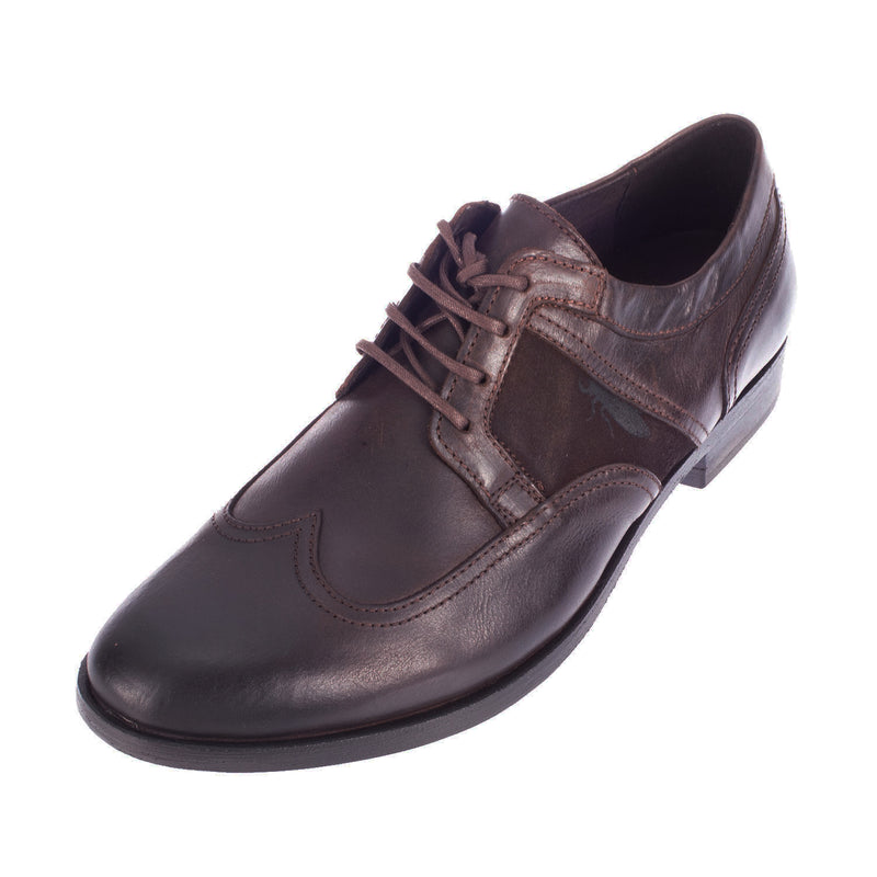 FLY LONDON Men's Pipo Leather Lace Up Brogue Shoe (P143550001)