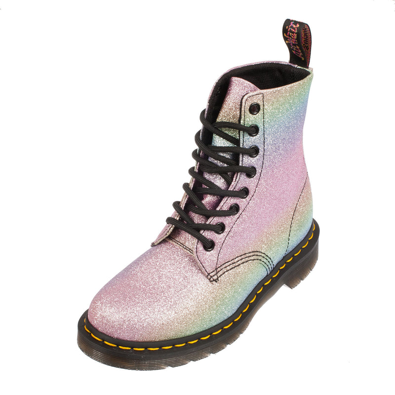 DR MARTENS Women's Pascal Glitter Pu Leather Lace Up Boot (22801102)