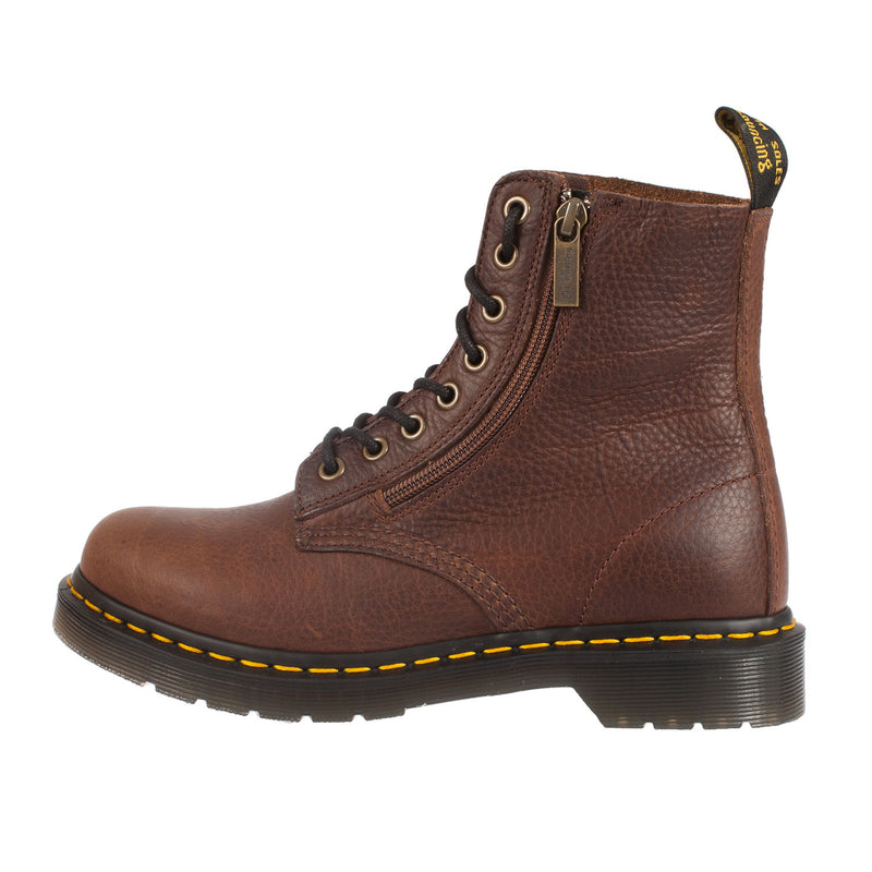 DR MARTENS Women's Pascal With Zip 8 Eye Lace Up Boot (22244201)