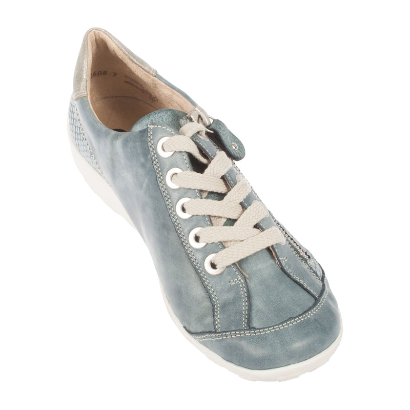 Women's Leather Casual Lace Up