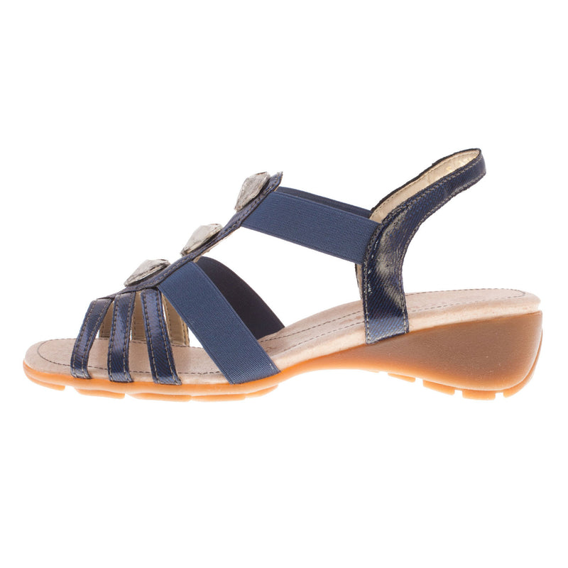 Women's R5258-14 Leather Stappy Sandal
