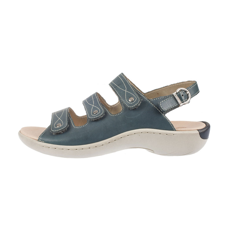 Women's R8566-14 Strapped Leather Sandal