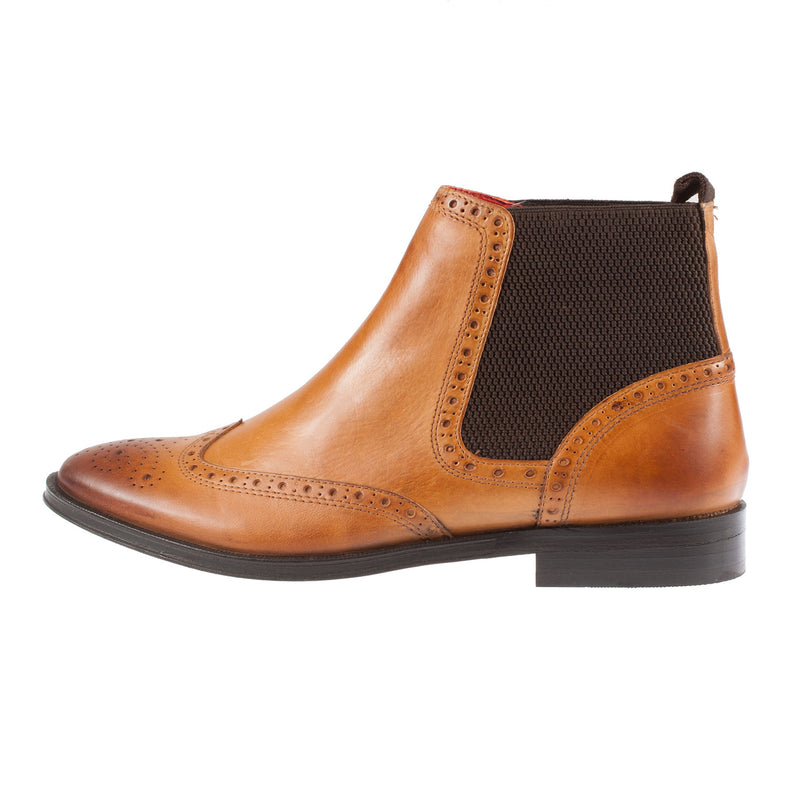 BASE LONDON Men's Compton Leather Chelsea Boot