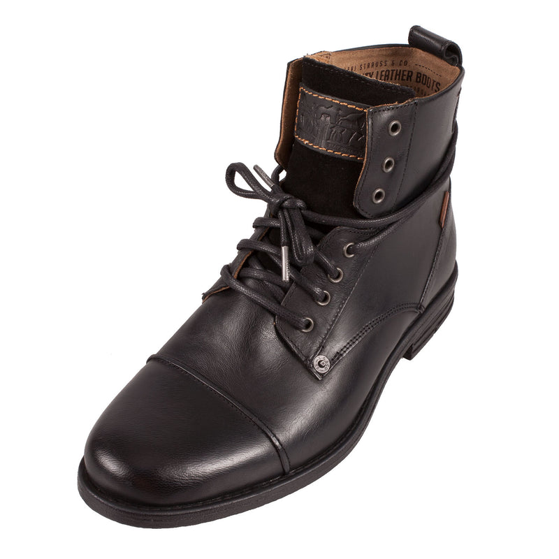 LEVI'S Men's Emerson Leather Lace Up Ankle Boot