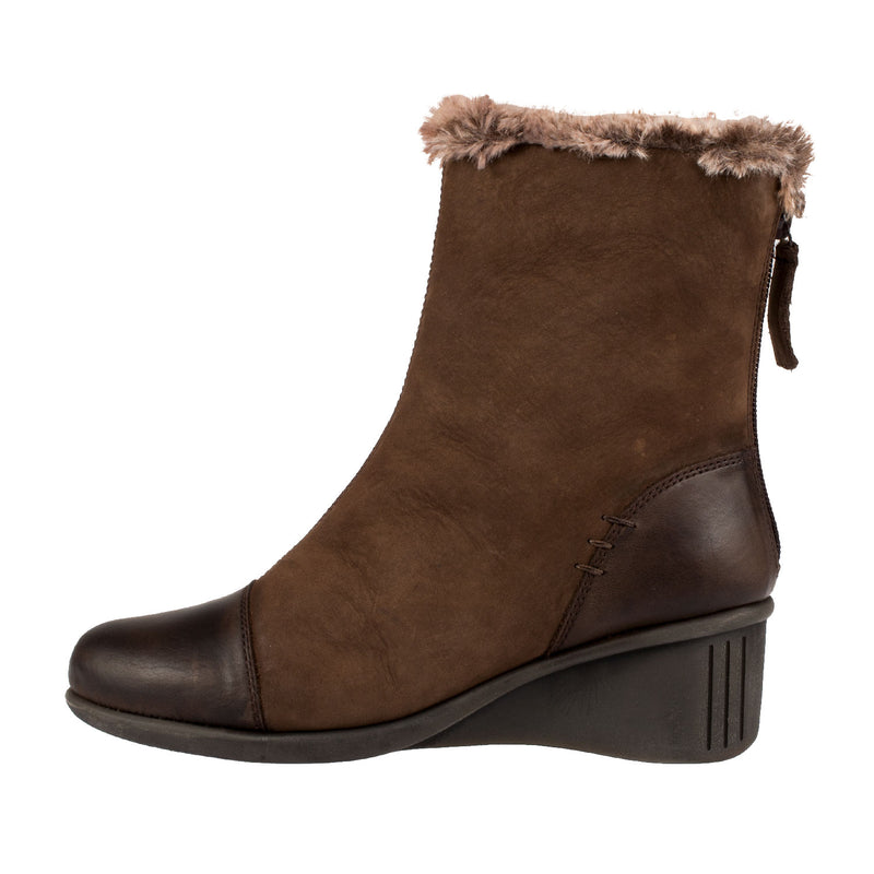 Women's Stay Inside Leather Ankle Boot