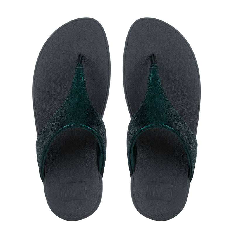 Shimmy Suede Toe-Post