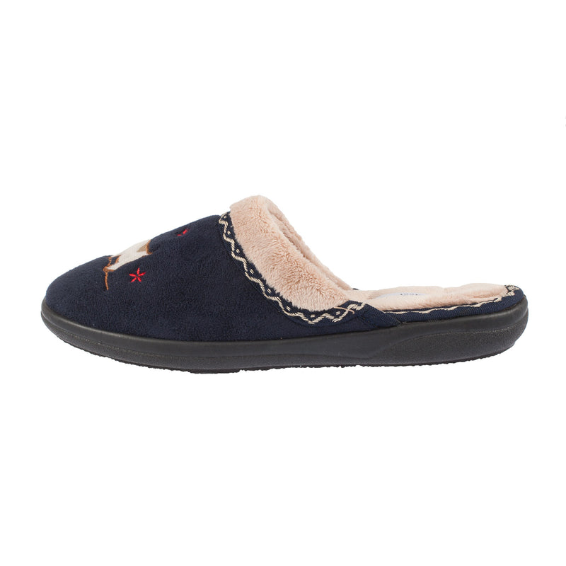 Women's Scotty Microsuede Mule Slipper