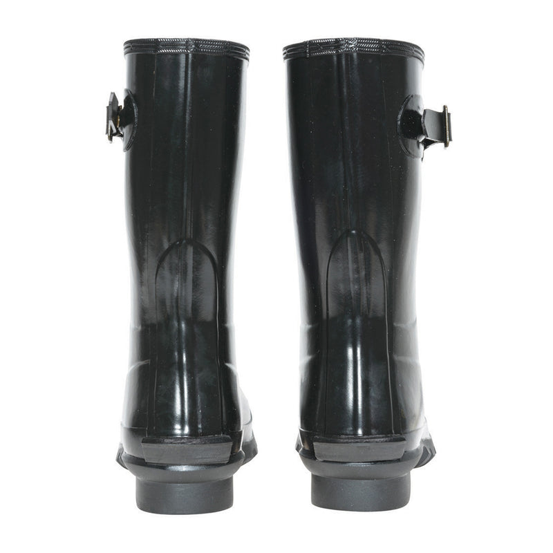 Women's Short Gloss Wellington Boot