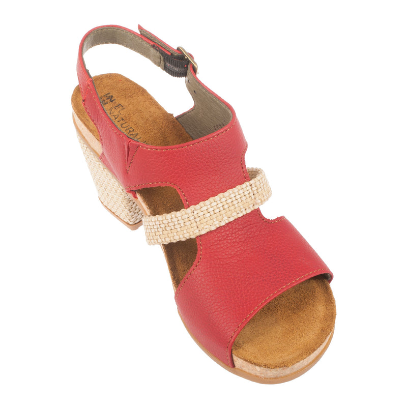 Women's 5031 Mola Leather Heel Sandal