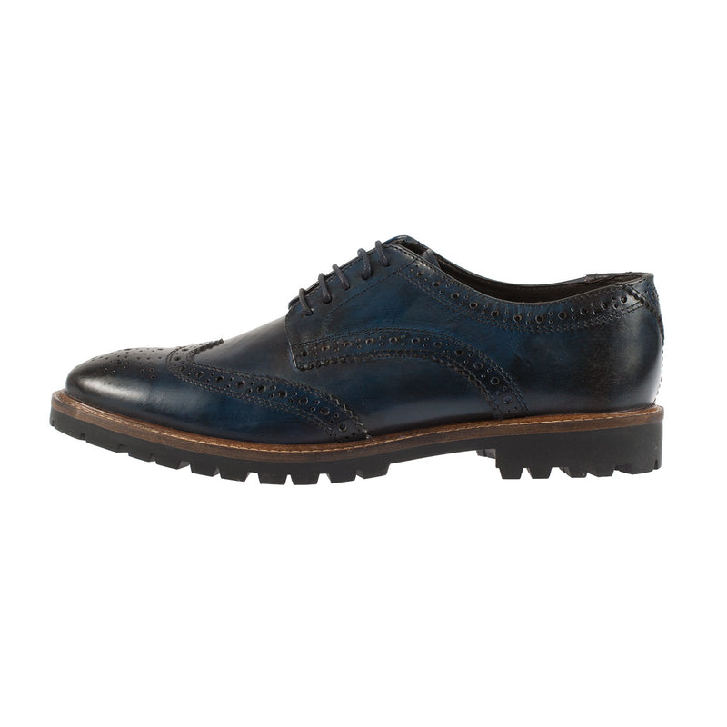 BASE LONDON Men's Trench Leather Brogue Shoe (RP02458)