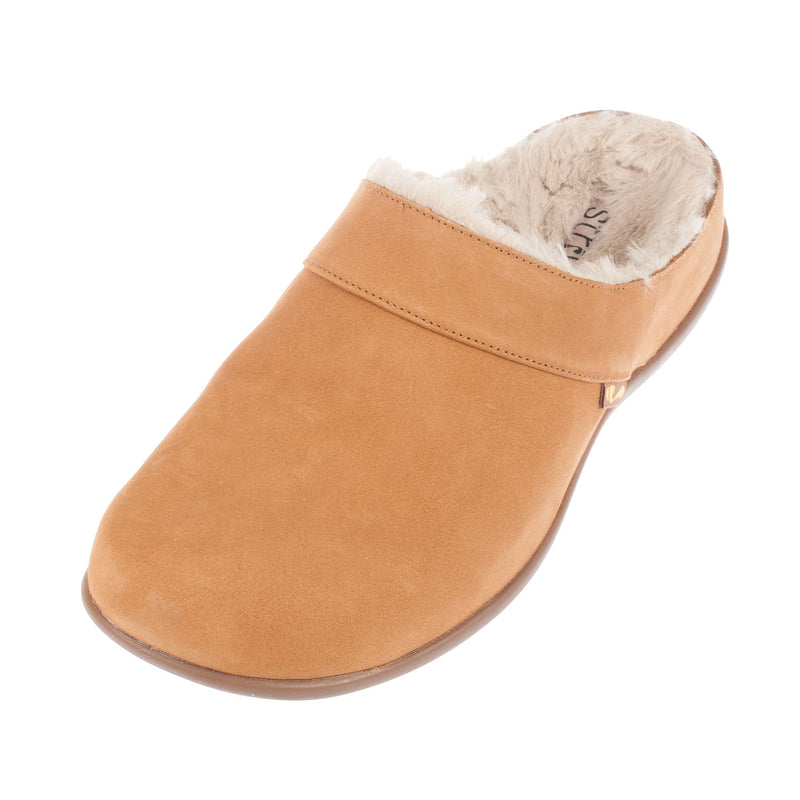Women's Vienna Nubuck Fur Lining Slipper