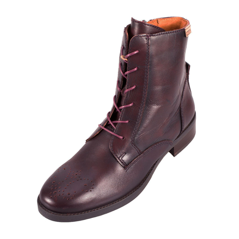 Women's W1d-8566Aa Leather Ankle Boot