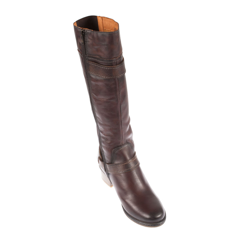 Zaragoza Leather Long Boot