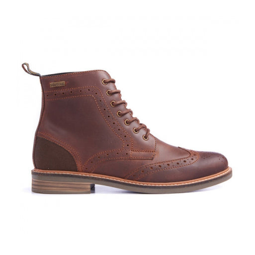 Belsay Leather Brogue Boot