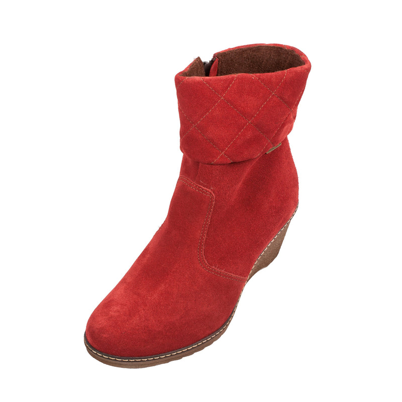 COTSWOLD Women's Cornwell Suede Wedge Boot