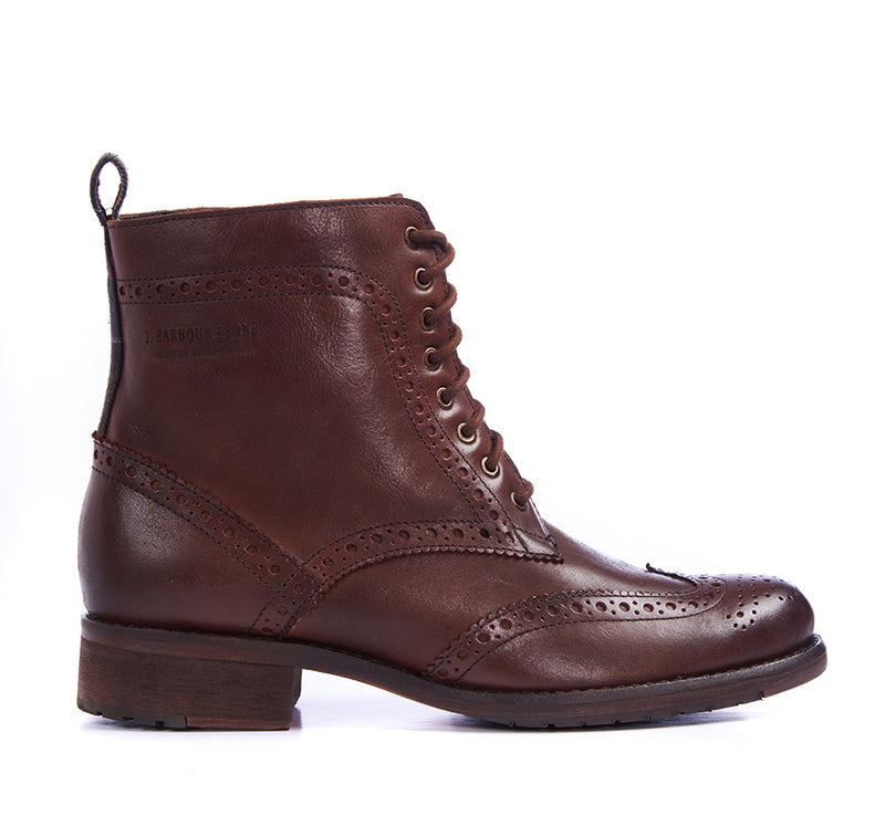 Women's Thirston Brogue Leather Boot
