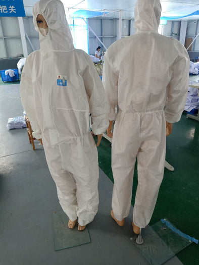 Disposable Isolator Suit A