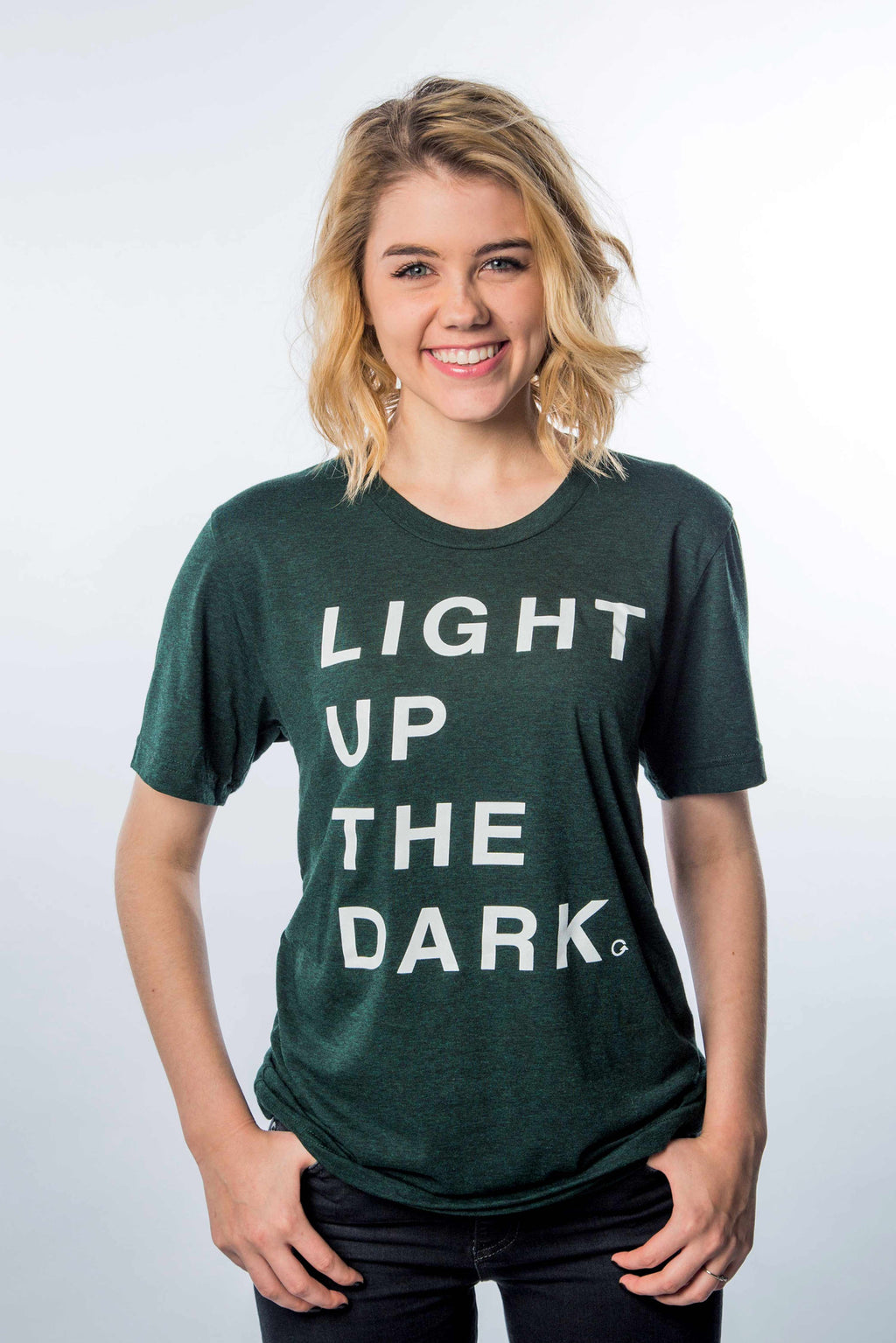 Light Up The Dark Emerald T-Shirt