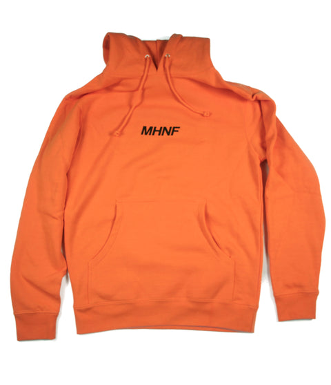 MAKE HIS NAME FAMOUS ORANGE HOODIE