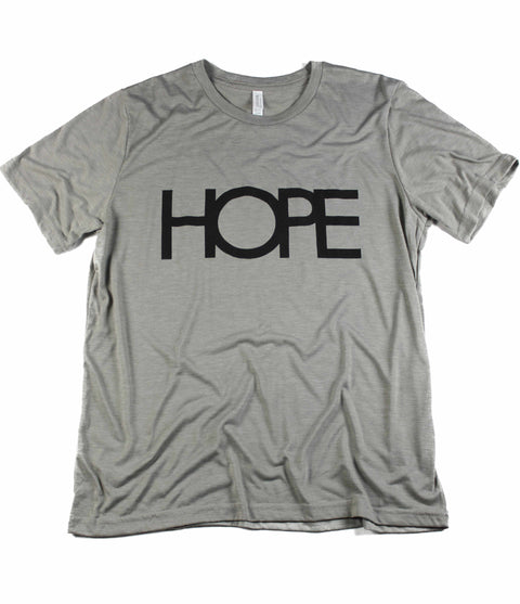 HOPE HEATHER STONE T-SHIRT