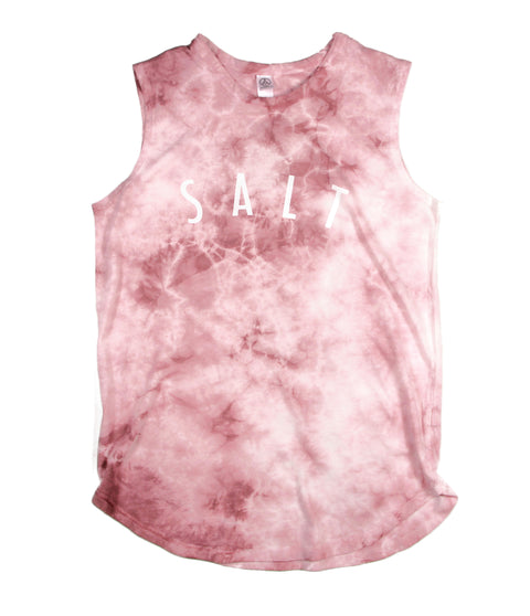 SALT + LIGHT ROSE TIE-DYED WOMEN'S SLEEVELESS TANK