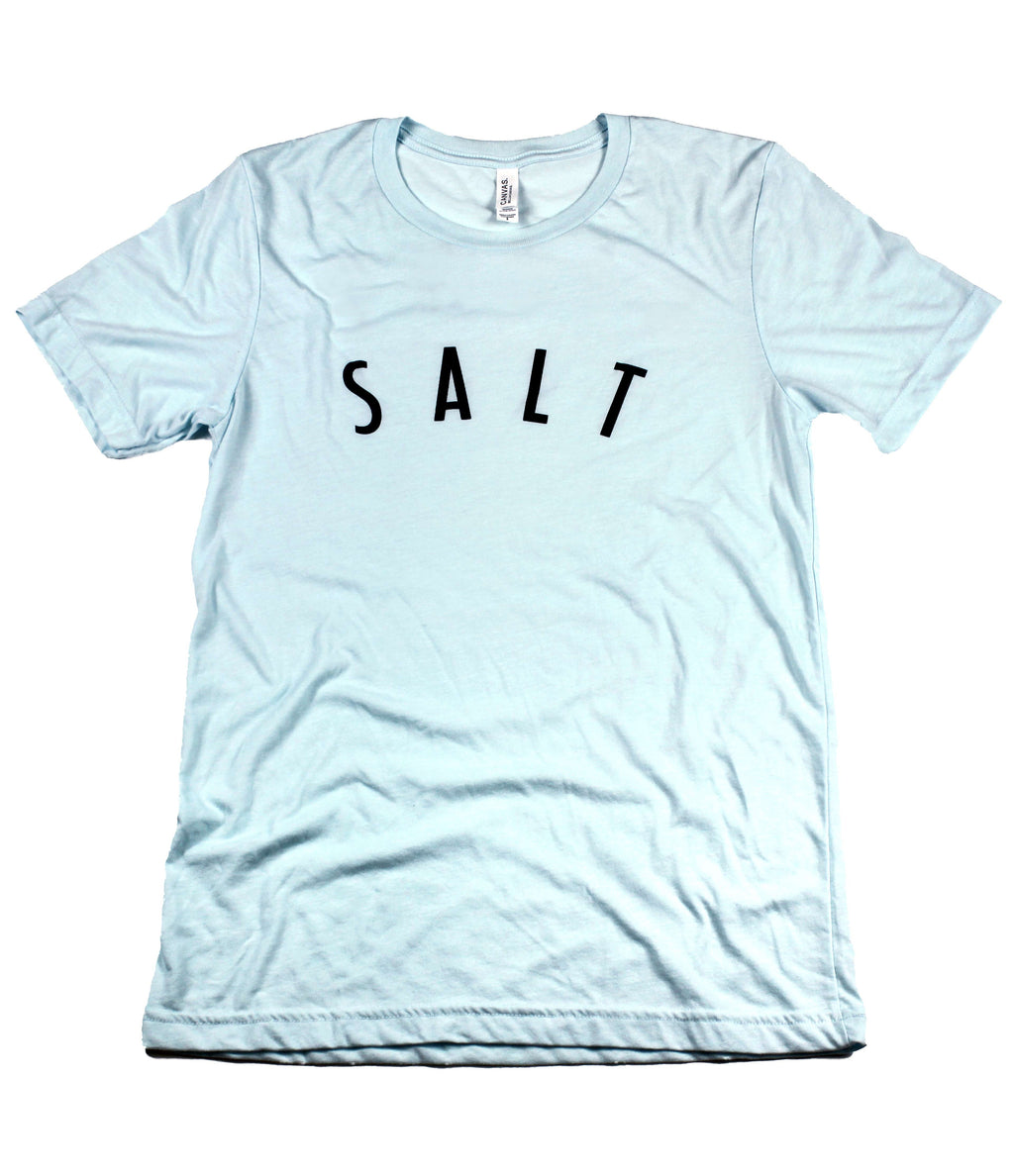 SALT + LIGHT ICE BLUE T-SHIRT