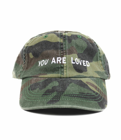 YOU ARE LOVED CAMO DAD CAP