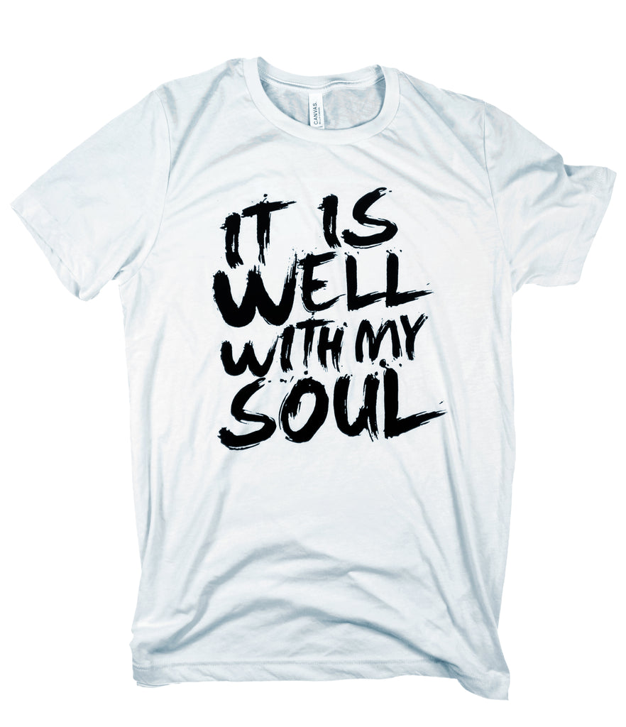 IT IS WELL ICE BLUE T-SHIRT