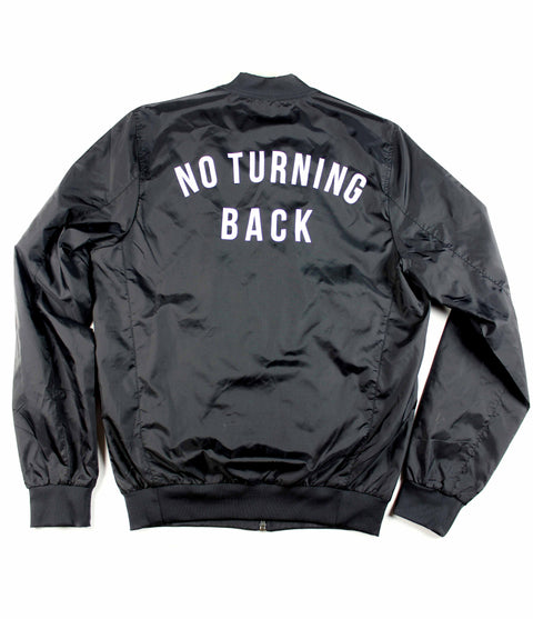 NO TURNING BACK LIGHTWEIGHT BOMBER JACKET