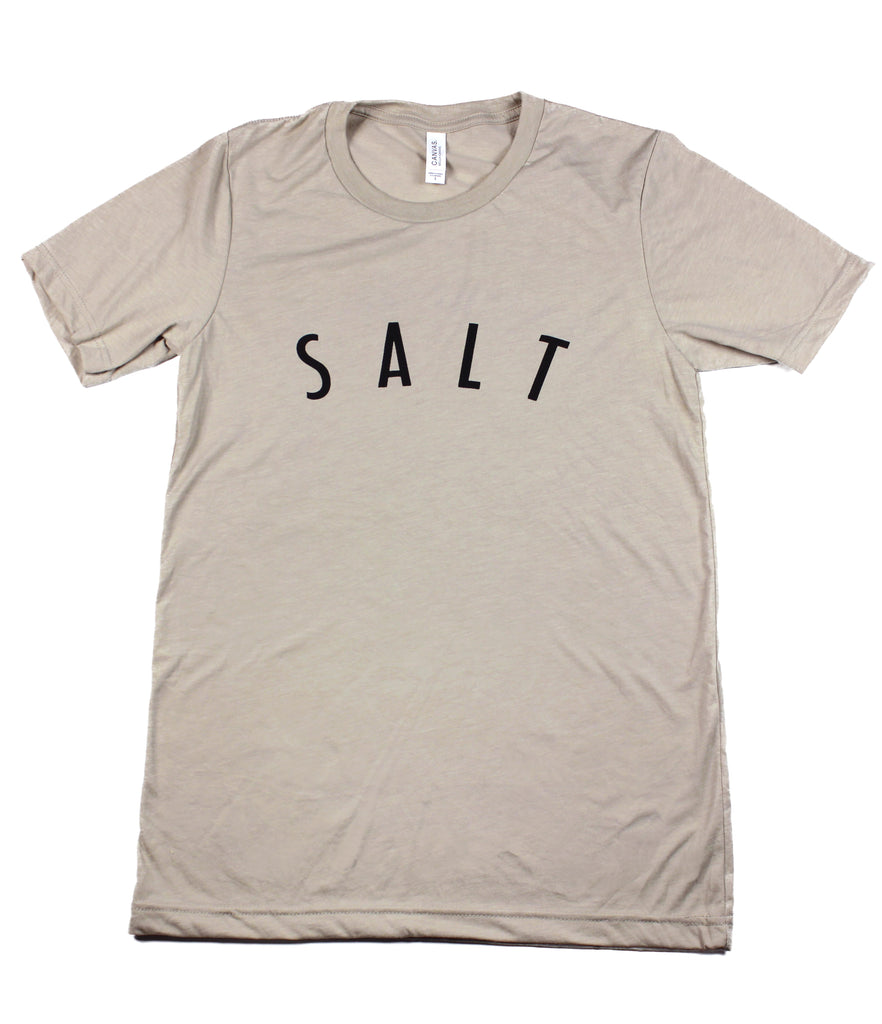 SALT + LIGHT TAN T-SHIRT