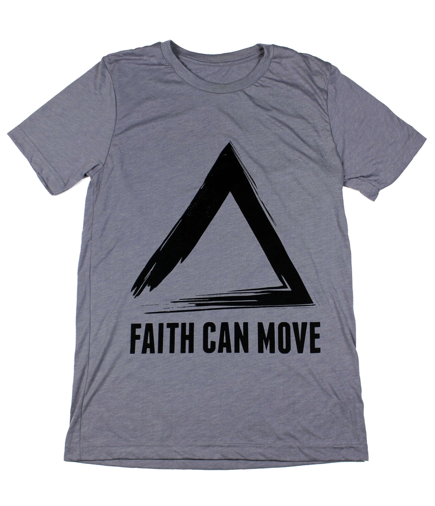 FAITH CAN MOVE MOUNTAINS STORM T-SHIRT