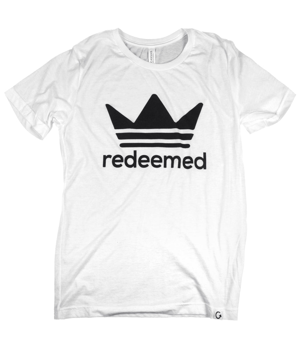 REDEEMED WHITE T-SHIRT