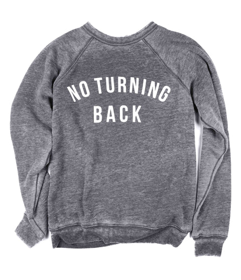 NO TURNING BACK ACID WASH PULLOVER