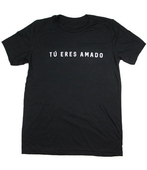Tu Eres Amado (You Are Loved) Black Tee