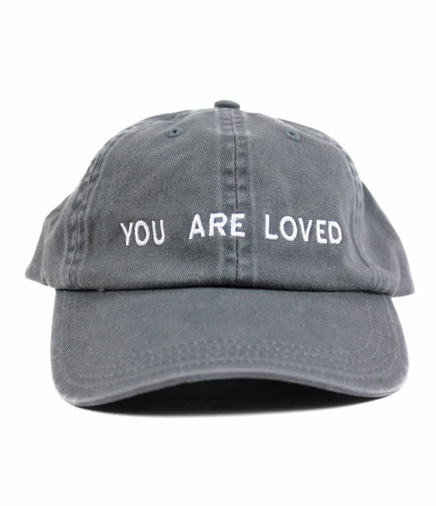 YOU ARE LOVED COAL DAD CAP
