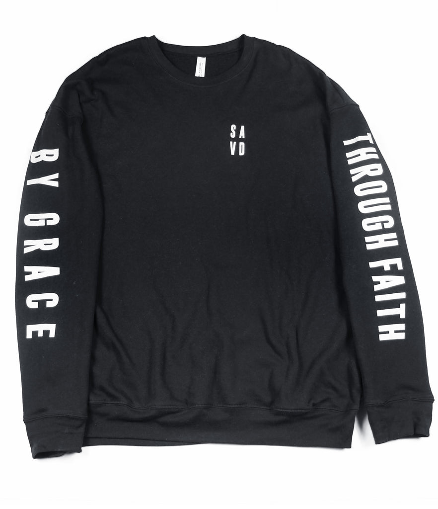 BY GRACE THROUGH FAITH CREWNECK SWEATSHIRT