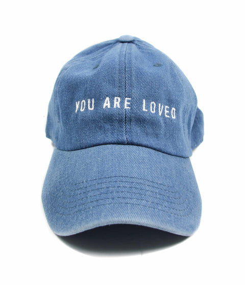 YOU ARE LOVED DENIM CAP