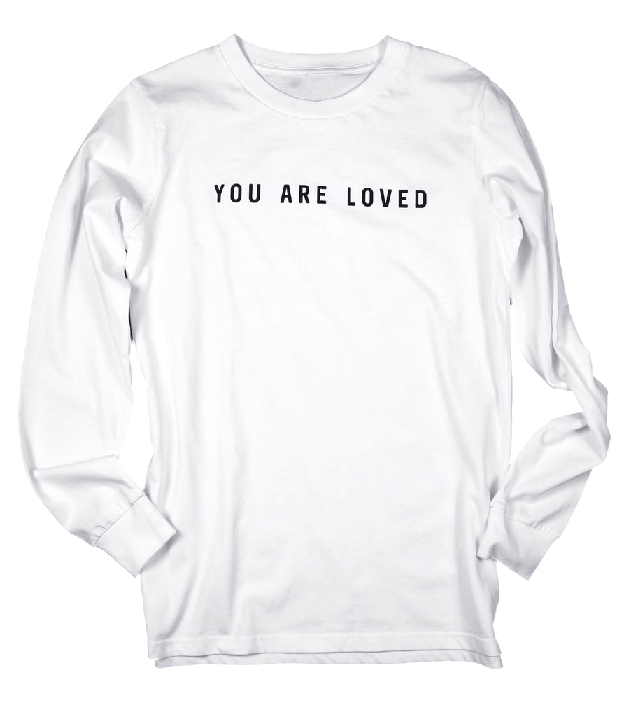 YOU ARE LOVED LONG SLEEVE TEE