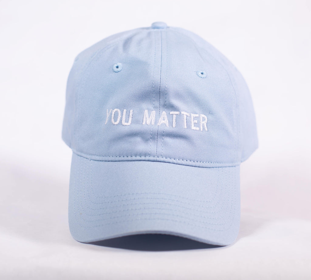 YOU MATTER BABY BLUE DAD CAP