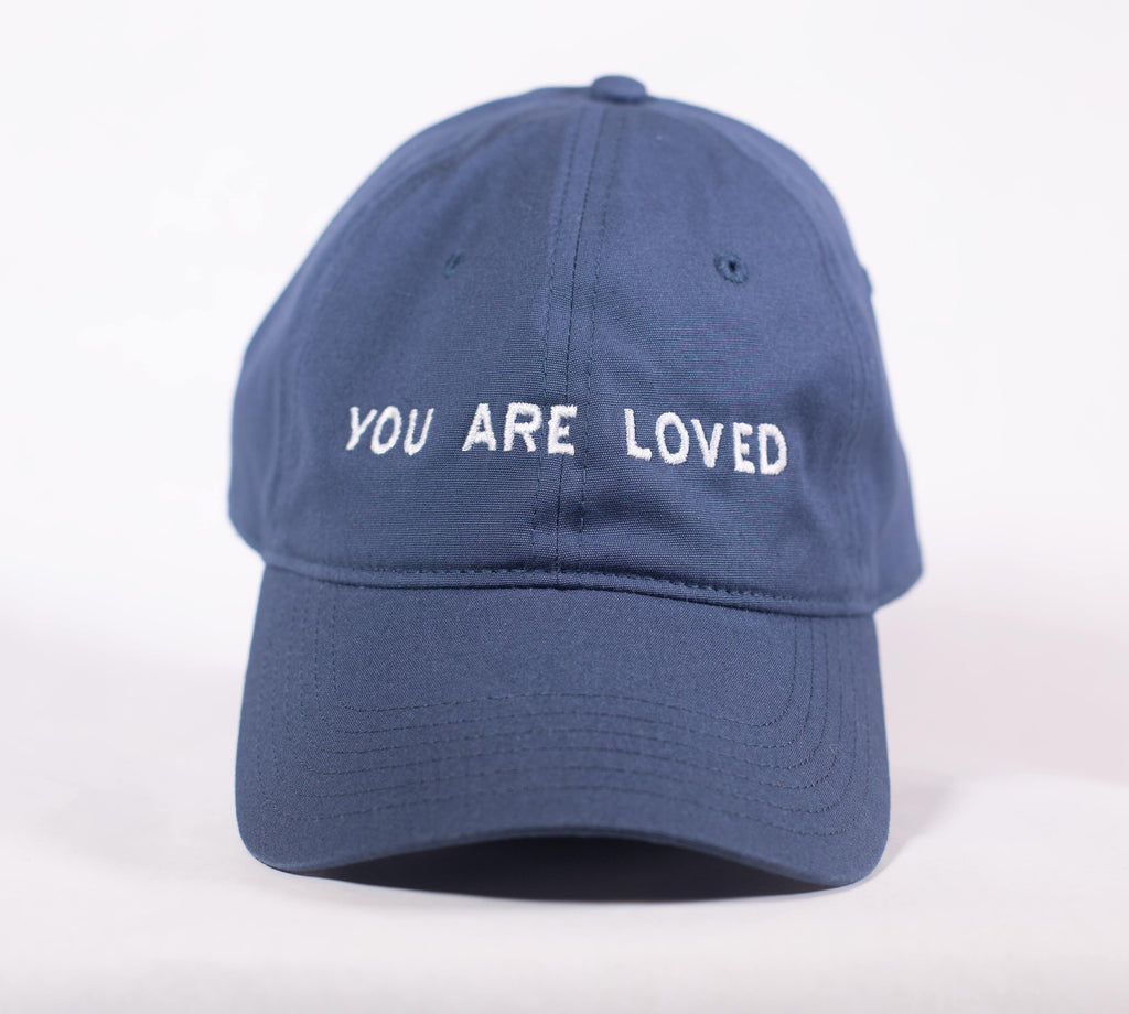YOU ARE LOVED DARK BLUE DAD CAP