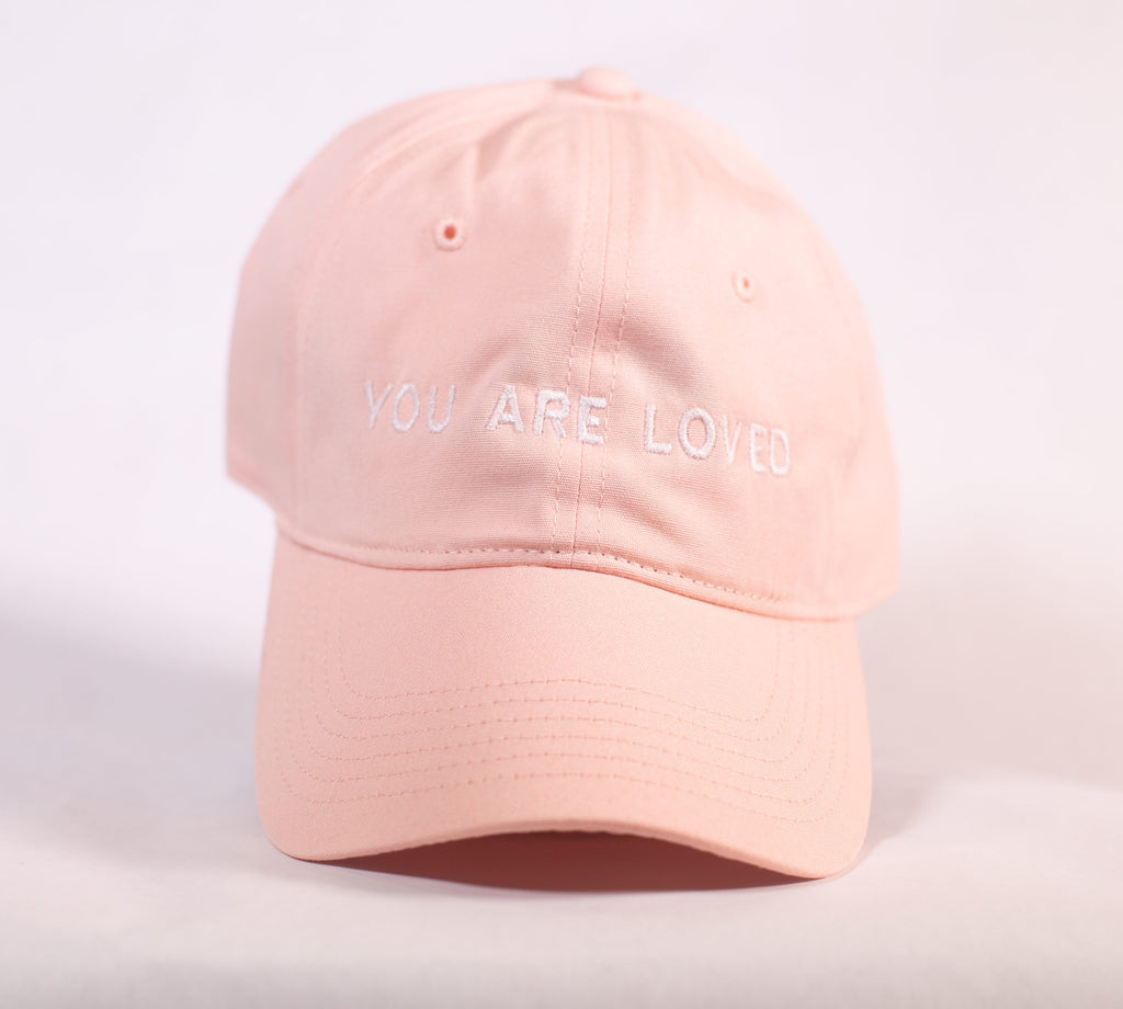 YOU ARE LOVED PINK DAD CAP