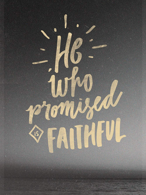 He Who Promised Poster