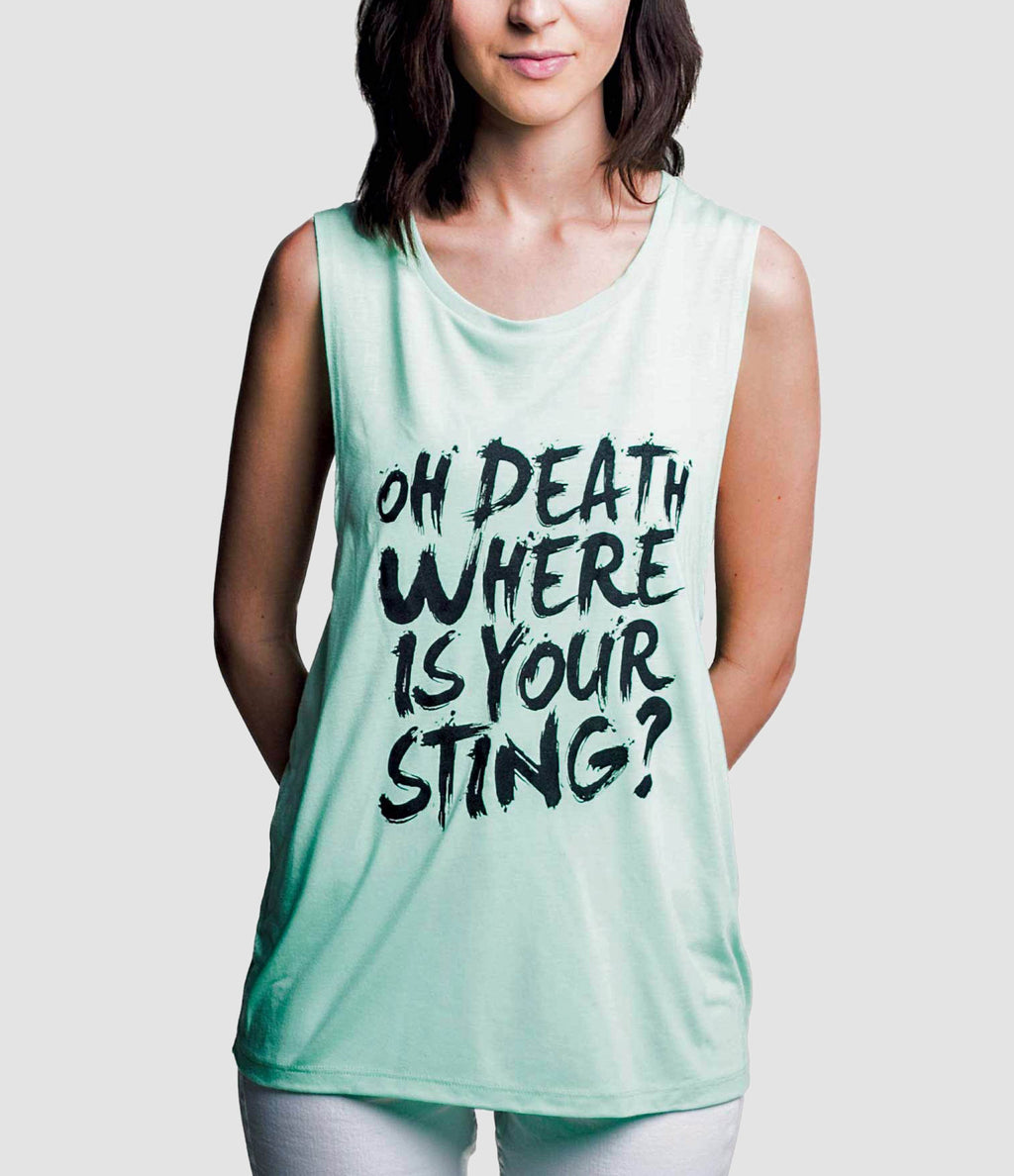 """Oh Death"" Muscle Tank"