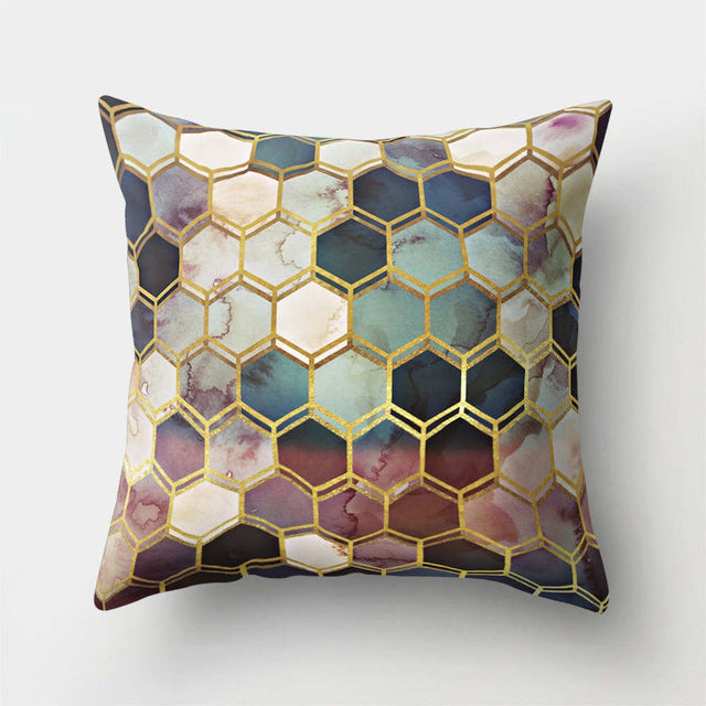Premium Pillow Cover - Geometric